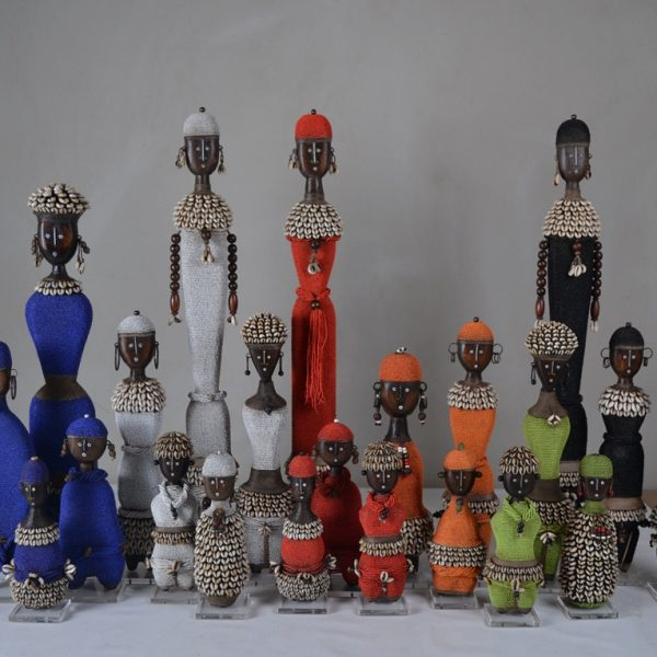 Beaded Dolls from Cameroon