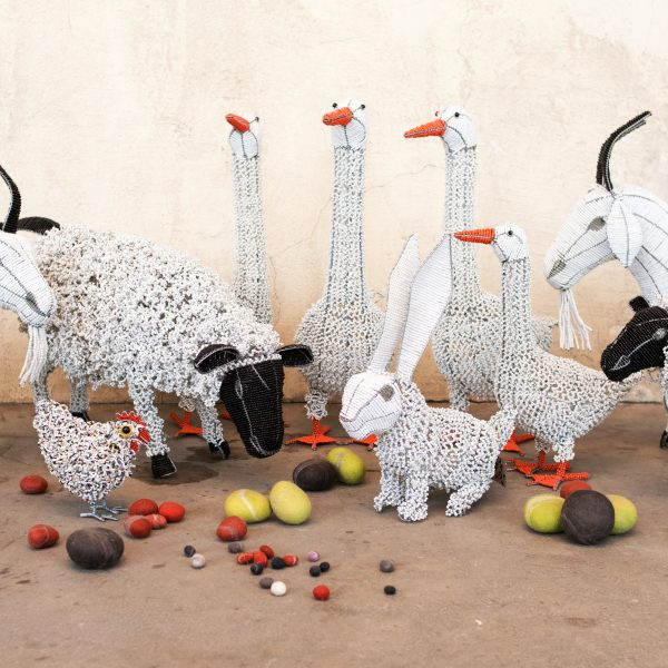 Beaded Animals from South Africa